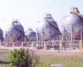 兰炼石化球罐防腐工程